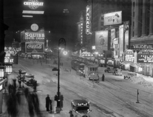 Times Square, 9:00 PM, February 26, 1934** B.D.M. - Image 24293_0546