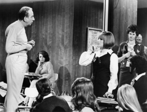 """Vincente Minnelli and Barbra Streisand on the set of """"On a Clear Day You Can See Forever""""1970 Paramount** B.D.M. - Image 24293_0547"""