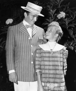 """James Drury and Hayley Mills in """"Pollyanna""""1960 Buena Vista / Disney** B.D.M. - Image 24293_0548"""
