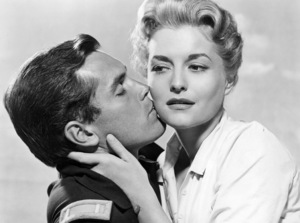 """Jeffrey Hunter and Constance Towers in """"Sergeant Rutledge""""1960 Warner Bros.** B.D.M. - Image 24293_0552"""