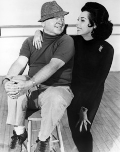 """Mickey Rooney and Ann Miller in rehearsals for """"Sugar Babies"""" (Stage Production)1977** B.D.M. - Image 24293_0561"""
