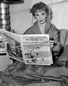 "Gwen Verdon during the run of ""Damn Yankees"" on Broadway1955Photo by William C. Greene** B.D.M. - Image 24293_0572"