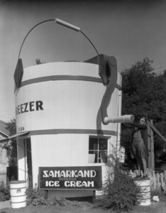 Los Angeles Landmarks (Samarkand Ice Cream)circa 1920s** I.V. / M.T. - Image 24293_0583