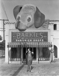 Los Angeles Landmarks (Barkies Sandwich Shop)circa 1920s** I.V. / M.T. - Image 24293_0589