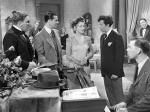 """William Bendix, Don Ameche, Vivian Blaine, Adolph Green and B.S. Pully in """"Greenwich Village""""1944 20th Century-Fox** B.D.M. - Image 24293_0590"""