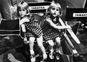 """Diane and Erin Murphy on the set of """"Bewitched""""circa 1965** B.D.M. - Image 24293_0597"""