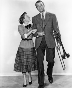 "June Allyson and James Stewart in ""The Glenn Miller Story""1954 Universal** B.D.M. - Image 24293_0614"