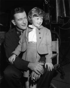 """John Wayne on the set of """"Jet Pilot""""1957 RKO** B.D.M. - Image 24293_0621"""