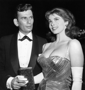 """Elgee Bove and Tina Louise at the New York premiere of """"A Face in the Crowd"""" at the Globe TheatreMay 28, 1957** B.D.M. - Image 24293_0626"""