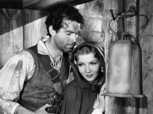 """Fred MacMurray Claudette Colbert in """"Maid of Salem""""1937 Paramount** B.D.M. - Image 24293_0627"""