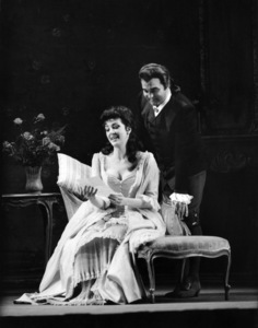 """Anna Moffo and  Nicolai Gedda in """"Manon"""" at the MET 1963Photo by Alfred Statler** B.D.M. - Image 24293_0628"""