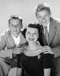 Ricky Nelson, Harriet Nelson and David Nelsoncirca mid 1950s** B.D.M. - Image 24293_0633