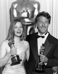 """""""The 61st Annual Academy Awards"""" ceremonyJodie Foster, Dustin Hoffman March 29, 1989** B.D.M. - Image 24293_0662"""