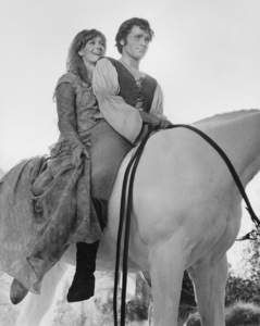 """Vanessa Redgrave and Franco Nero in """"Camelot""""1967 Warner Bros.Photo by L. Trumpler** B.D.M. - Image 24293_0684"""