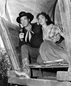 """The Command""Guy Madison, Joan Weldon1954 Warner Bros.** B.D.M. - Image 24293_0688"