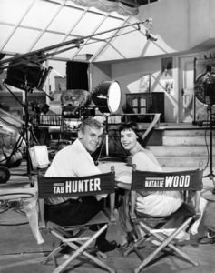 Tab Hunter and Natalie Woodcirca 1955Photo by Jack Woods** B.D.M. - Image 24293_0714