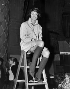 "Paula Prentiss in 1963, filming a scene from ""Man"