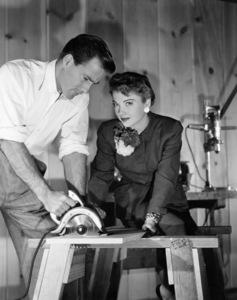 Hugh Marlowe and Anne Baxtercirca 1950** B.D.M. - Image 24293_0821