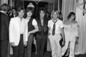 "The Bay City Rollers (Alan Longmuir) at the premiere party for ""Sgt. Pepper"