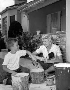 Doris Day and her son Terrycirca 1951** B.D.M. - Image 24293_0837