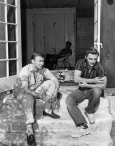 Nick Adams and Dennis Hoppercirca 1955** B.D.M. - Image 24293_0952