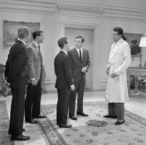 "Joel Grey, Bobby Darin and Rock Hudson in ""Come September""1961 Universal** B.D.M. - Image 24293_0985"