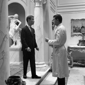 """Joel Grey and Rock Hudson in """"Come September""""1961 Universal** B.D.M. - Image 24293_0987"""