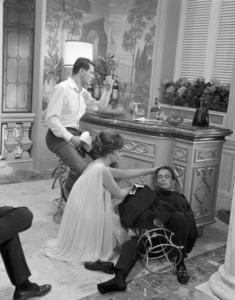 "Rock Hudson, Gina Lollobrigida and Joel Grey in ""Come September""1961 Universal** B.D.M. - Image 24293_0989"