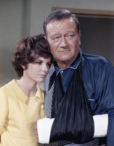 "Katharine Ross and John Wayne in ""Hellfighters""1968 Universal** B.D.M. - Image 24293_1007"