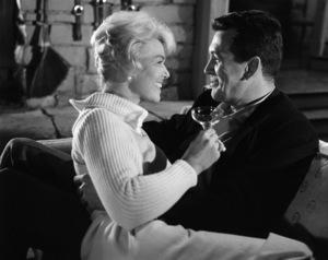 "Doris Day and Rock Hudson in ""Pillow Talk""1959 Universal** B.D.M. - Image 24293_1015"