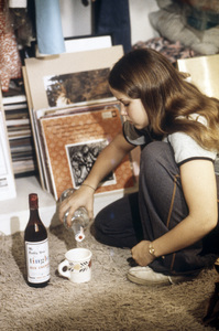 "Linda Blair in ""Sarah T.- Portrait of a Teenage Alcoholic""1975** B.D.M. - Image 24293_1028"