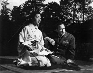 "Miiko Taka and Marlon Brando in ""Sayonara""1957 Warner Bros.** B.D.M. - Image 24293_1033"