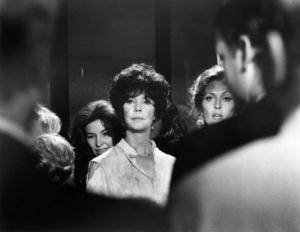 "Jennifer Jones and Faye Dunaway in ""The Towering Inferno""1974 20th Century-Fox & Warner Bros.** B.D.M. - Image 24293_1053"