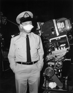 """Frank Sinatra on the set of """"Assault on a Queen""""1966 Paramount** B.D.M. - Image 24293_1078"""