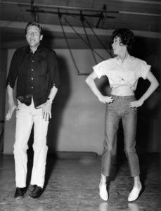 "Dick Van Dyke and Janet Leigh in rehearsals for ""Bye Bye Birdie""1963 Columbia** B.D.M. - Image 24293_1084"