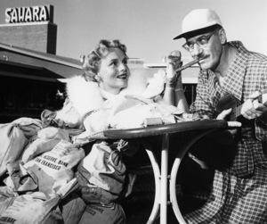 Marie Wilson and Groucho Marxcirca mid-1950s** B.D.M. - Image 24293_1112