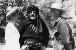 """Candice Bergen and Sean Connery on the set of """"The Wind and the Lion""""1975 MGM** B.D.M. - Image 24293_1205"""