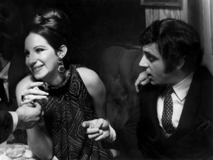 """Barbra Streisand and Anthony Newley at the closing night party for """"Funny Girl"""" in LondonJuly 17, 1966** B.D.M. - Image 24293_1230"""