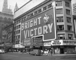 Marquees for the Astor and the Victoria in Times Square, New York1951** B.D.M. - Image 24293_1290