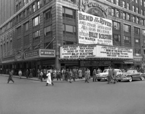 Marquee of the Paramount in New York
