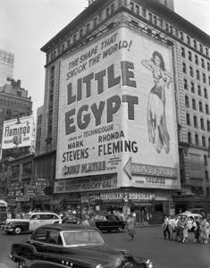 Marquees of the Mayfair theatre in Times Square, New York1951** B.D.M. - Image 24293_1298