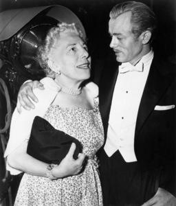 """Edna Ferber and James Dean on the set of """"Giant""""1955 Warner Bros.** B.D.M. - Image 24293_1318"""