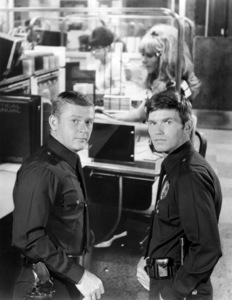 "Martin Milner and Kent McCord in ""Adam-12""circa 1968** I.V. - Image 24293_1394"