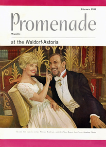 """Florence Henderson and Jose Ferrer in """"The Girl Who Came To Supper"""" on the cover of Promenade magazine1964Photo by Friedman-Abeles** B.D.M. - Image 24293_1437"""