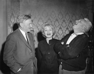 "Marlene Dietrich and Spencer Tracy on the set of ""Judgment at Nuremberg""1961 United Artists** B.D.M. - Image 24293_1451"