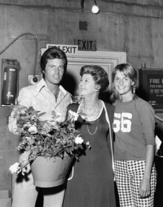 Rick Nelson, Harriet Nelson and Kris Harmoncirca 1972** B.D.M. - Image 24293_1462