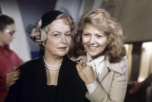 "Olivia de Havilland and Brenda Vaccaro in ""Airport"