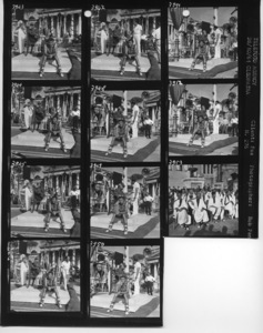 "Rex Harrison, Joseph L. Mankiewicz, Roddy McDowall and Richard Burton on the set of ""Cleopatra""1963 20th Century-FoxPhotos by Bob Penn** B.D.M. - Image 24293_1501"