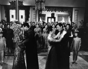 "Miyoshi Umeki, James Shigeta, Nancy Kwan and Jack Soo in ""Flower Drum Song""1961 Universal** B.D.M. - Image 24293_1525"