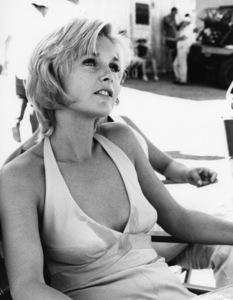 "Carol Lynley on the set of ""Norwood""1970 Paramount** B.D.M. - Image 24293_1572"